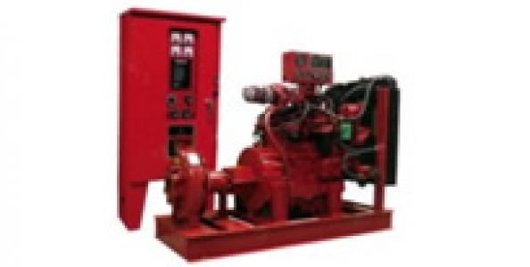 Paquetes Contra Incendio con Motor Diesel